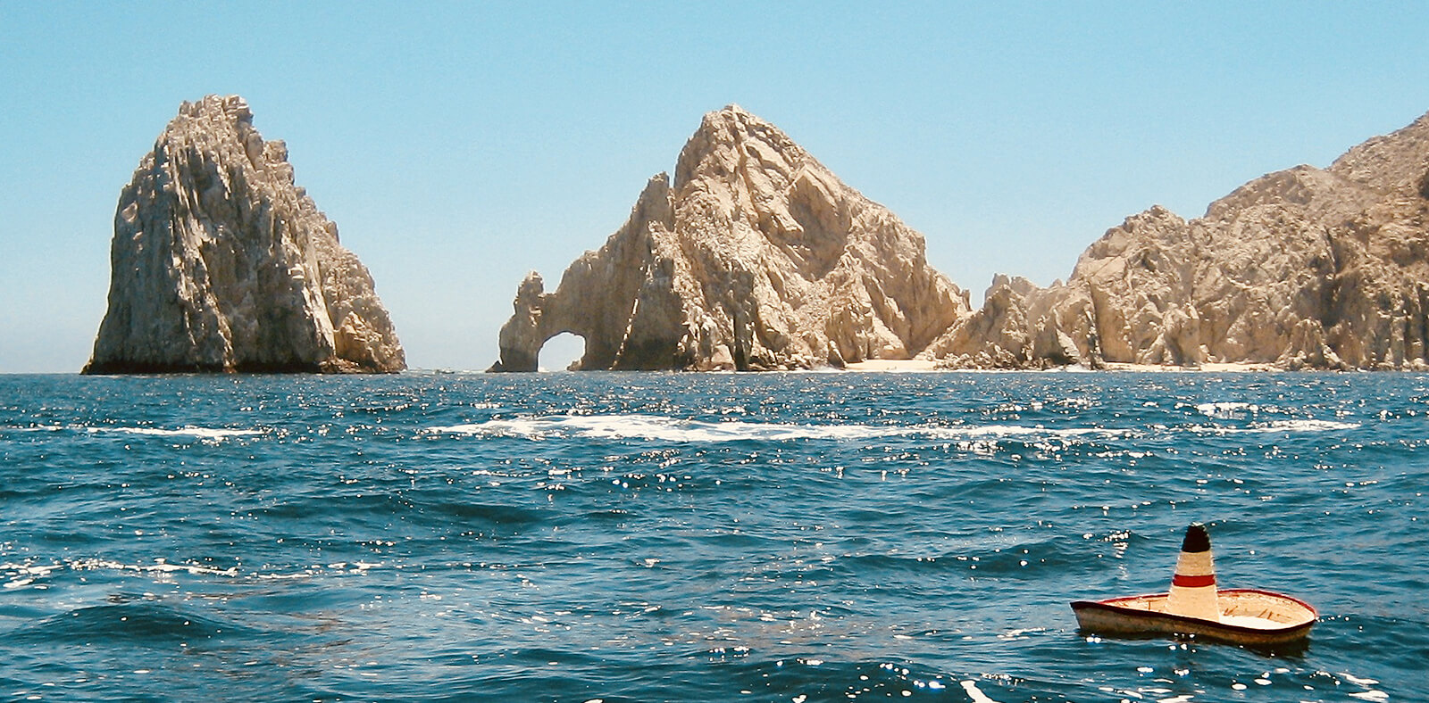 Rock Formation on sea